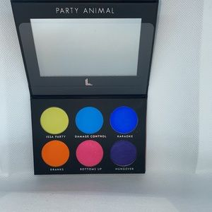 NEW PARTY ANIMAL PRESSED PIGMENT PALETTE BY LAURA